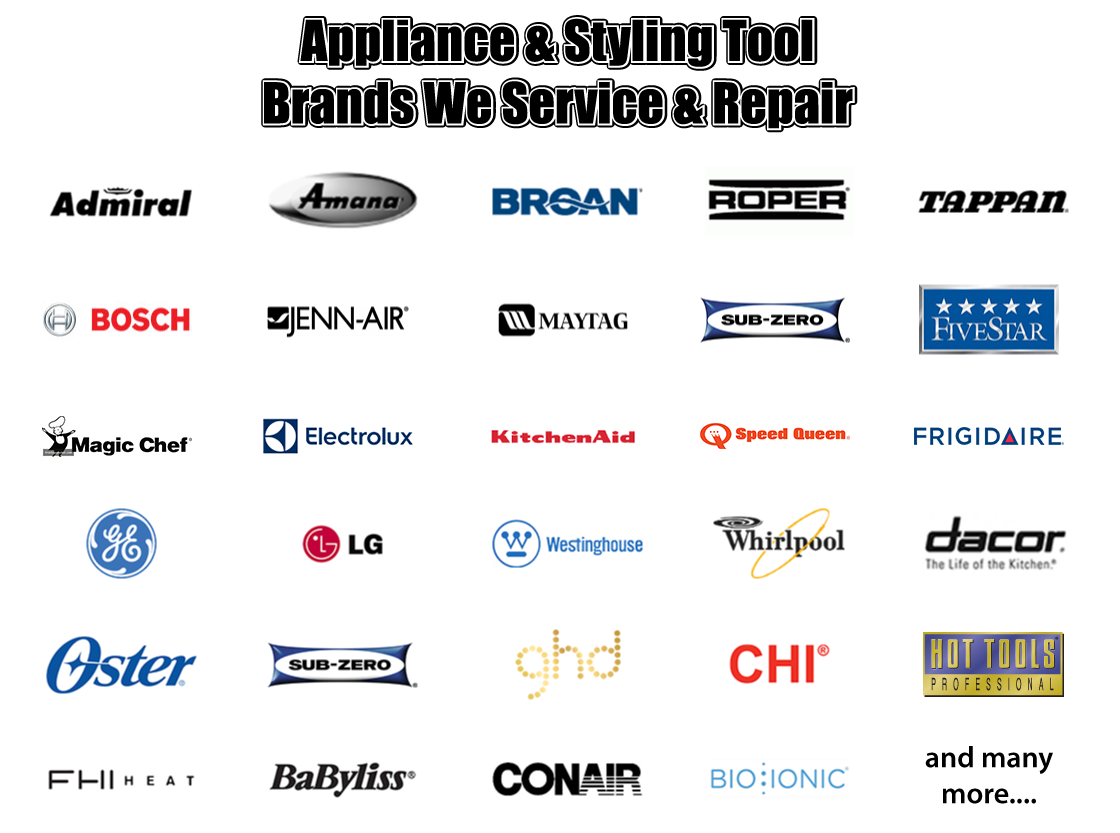 Kitchen Appliance Manufacturers Logos